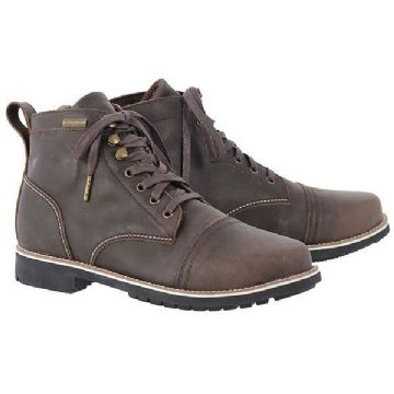 Oxford Digby Short Motorcycle Boots Brown